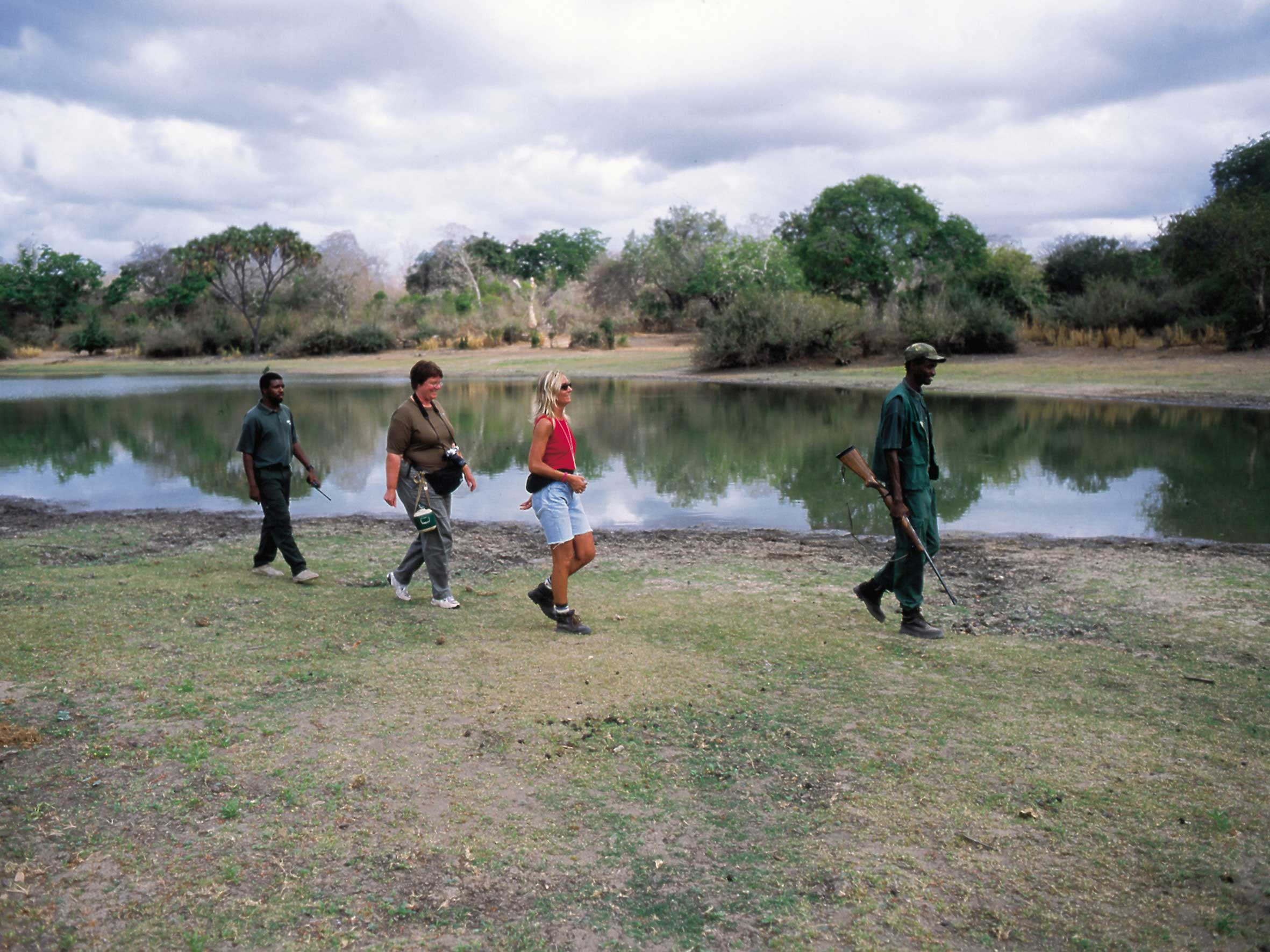 rufiji walking