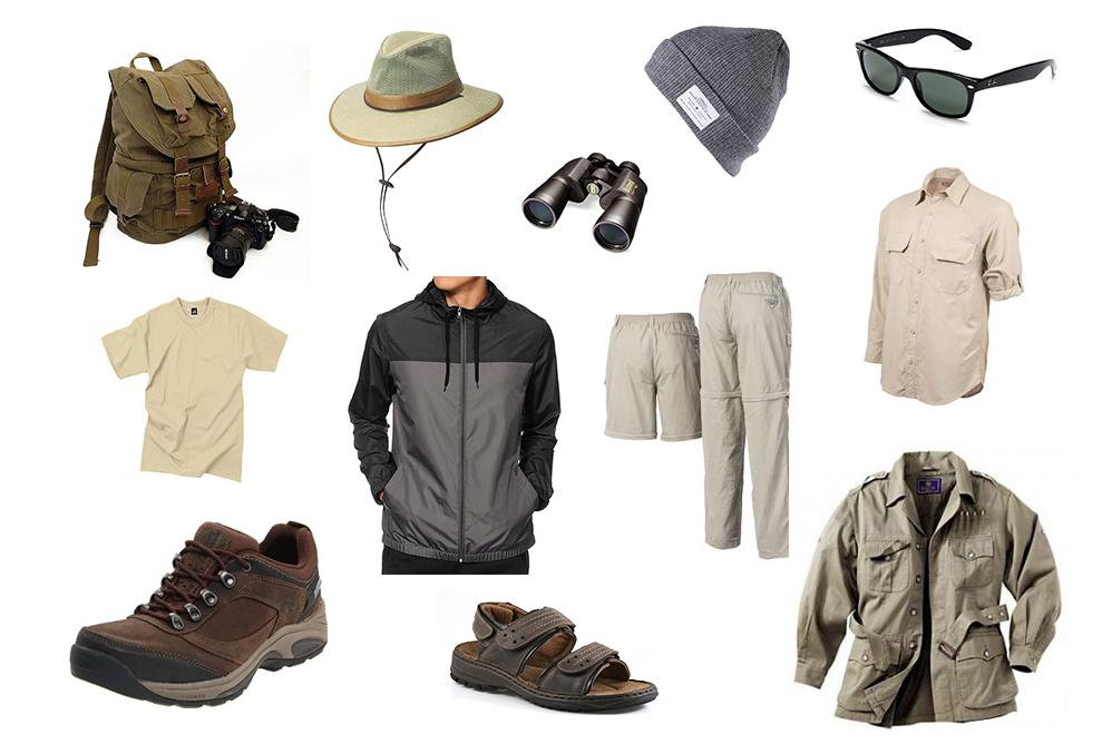 safari basics for men