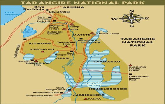 tara -map